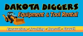 Trucking and Excavating logo