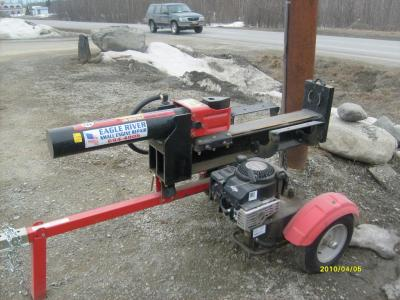 Log Splitter, Yard Machine
